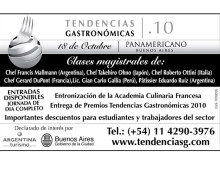 Tendencias Gastronomicas