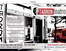 Teatro Tadron – Tarjeton
