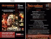 Teatro Tadron – Cielo Naranja
