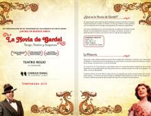 La novia de Gardel – Carpeta corporativa